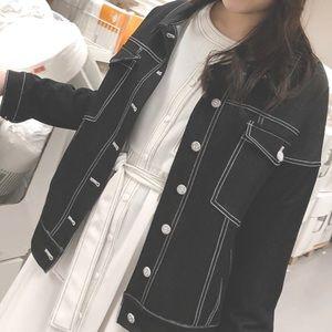 Jackets & Blazers - Jean jacket Black